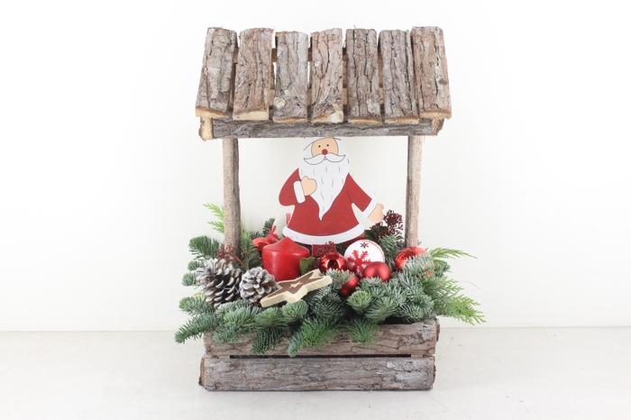 <h4>arr.. Kerst PL - Hout huis XXL rood</h4>