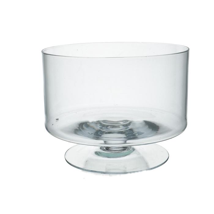 <h4>Glass Bowl/foot d24*18cm</h4>