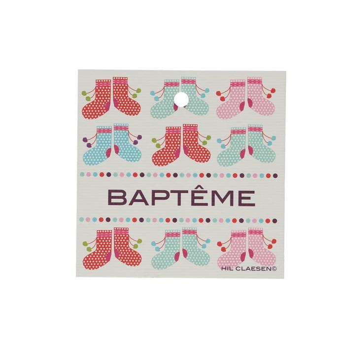 <h4>Opruiming Kerst Kaart 70mm x25 Bapteme</h4>