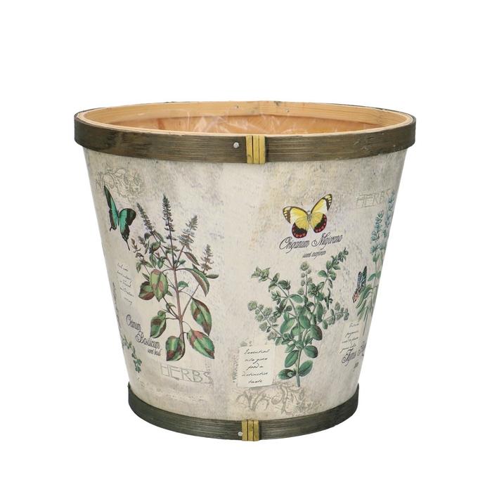 <h4>Hout Herbs pot d17*15cm</h4>