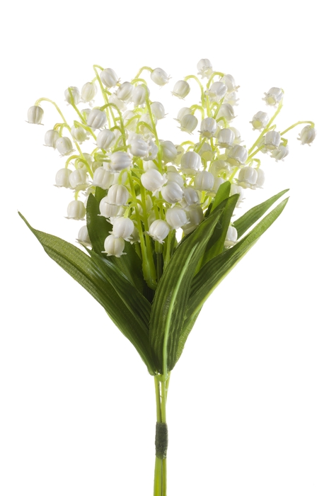 <h4>SILK LILY OF VALLY BUNDLE X3 D15CM WHITE 416987</h4>