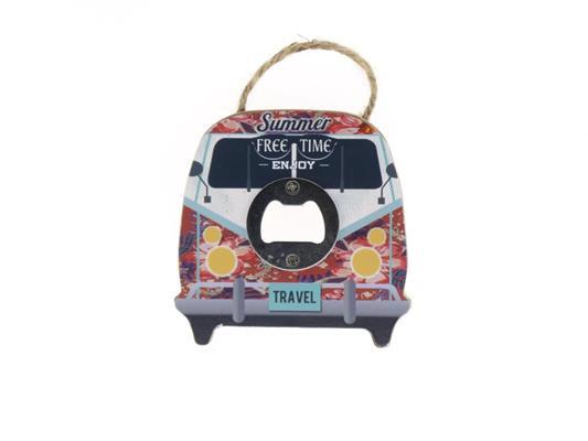 <h4>Bottle Opener Van Free 10cm</h4>