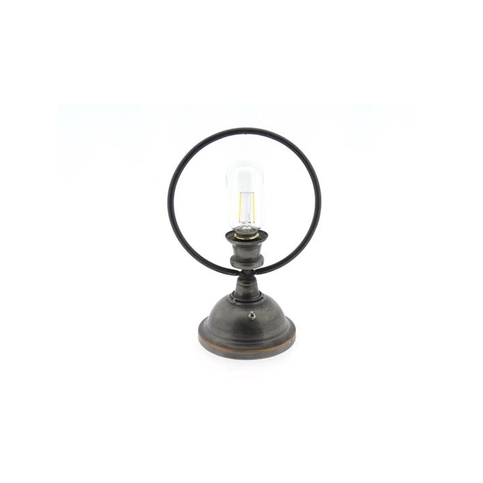 <h4>Lamp Table Led H27cm Black</h4>