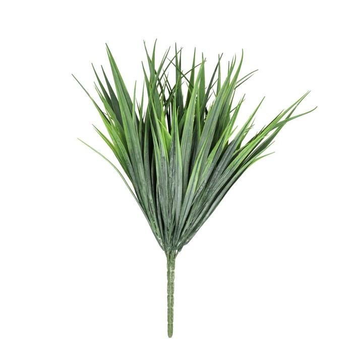 <h4>Silk Grass Bush 35cm</h4>