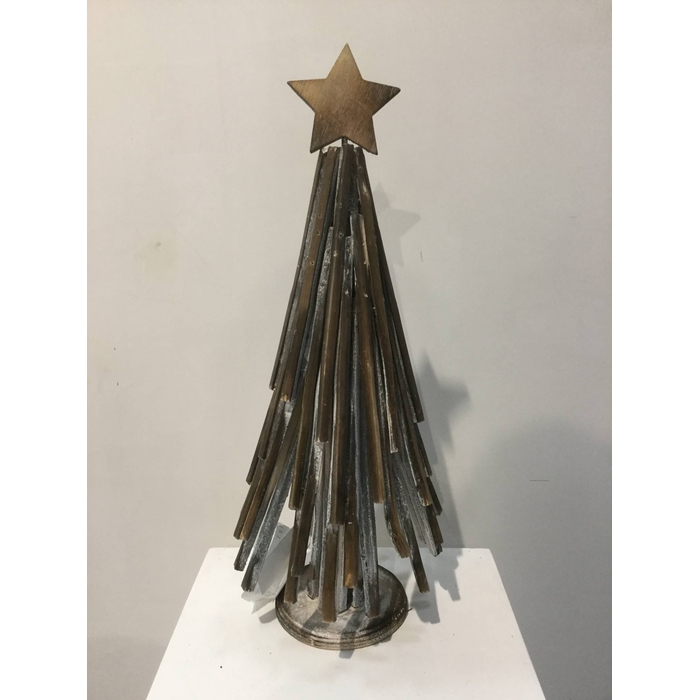 <h4>ANDES TREE WITH STAR 40CM OASIS-DECO</h4>