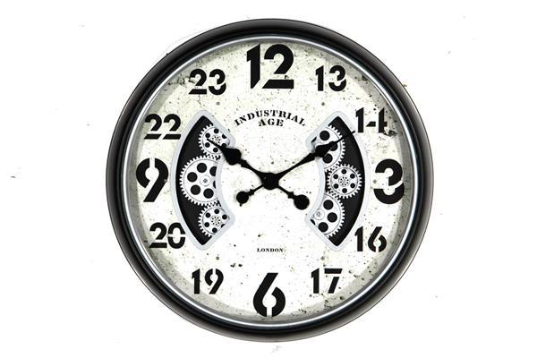 <h4>Clock Gear Ø50cm Brown 81549</h4>