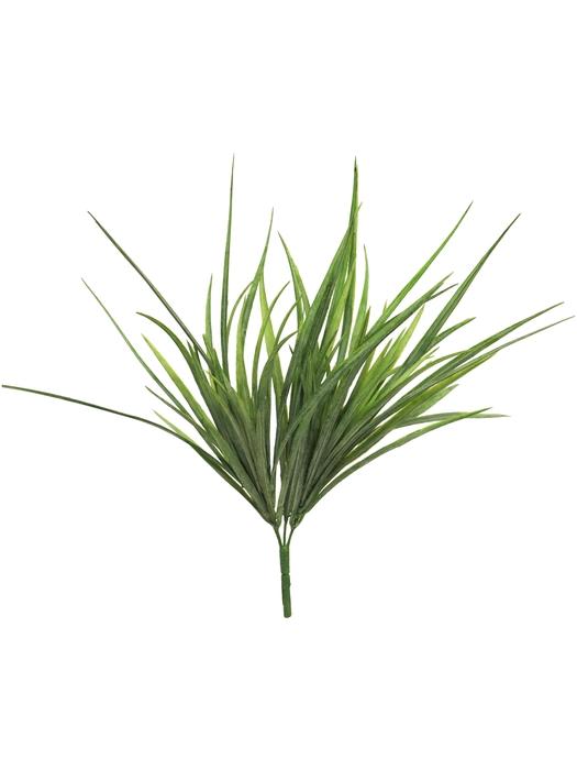 <h4>SILK GRASS BUSH CERA DK GREEN 37CM 51387-1</h4>