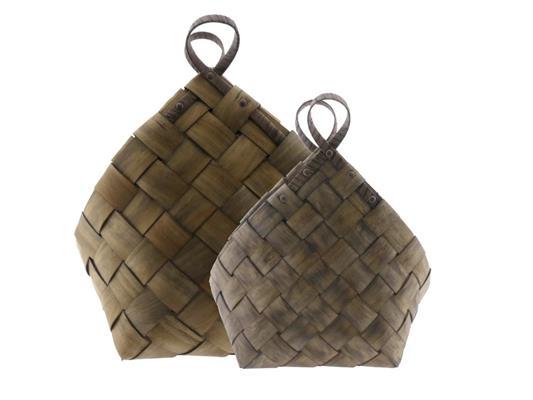 <h4>Bag Redwood Set/2 48x13x54cm</h4>