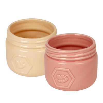 <h4>Pot Santiago céramique D11xH9,5cm ES9 2ass</h4>