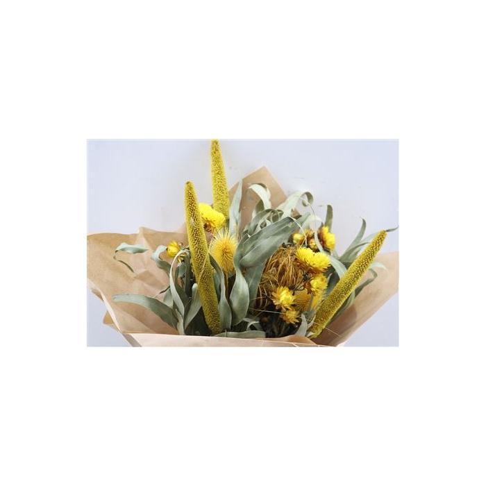 <h4>Dried Bqt Myflowers Gomera 2.0 Geel</h4>