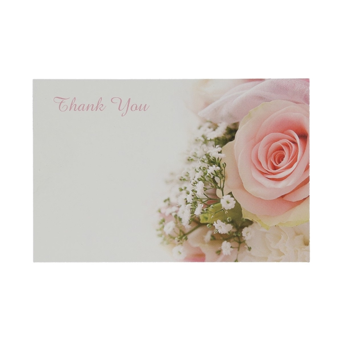 <h4>Labels Kaart 9*6cm x50 Th.You Roses</h4>