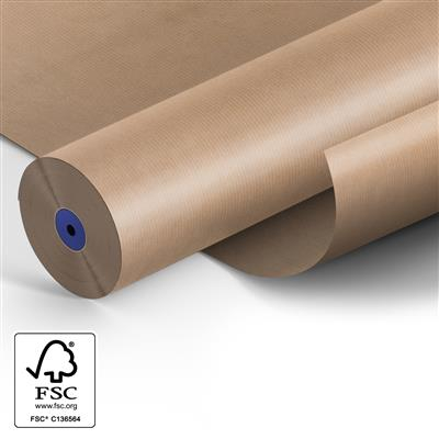 <h4>Papier: 50cm brown rayé kraft 50gr 400m.</h4>