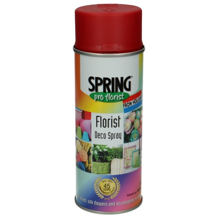 <h4>Decoration Decospray 400ml Holiday Red</h4>