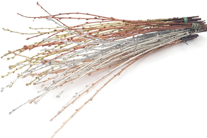 <h4>Avium branches lgt 40cm 10 stems per bunch mix colours Chrismass</h4>