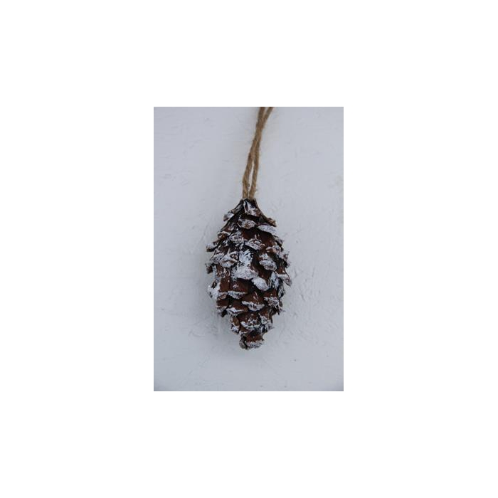 <h4>Pine Cone 11cm Hanging</h4>
