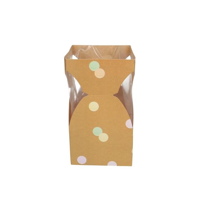 <h4>Bags Bouquet vase confet.12/12*21cm×</h4>