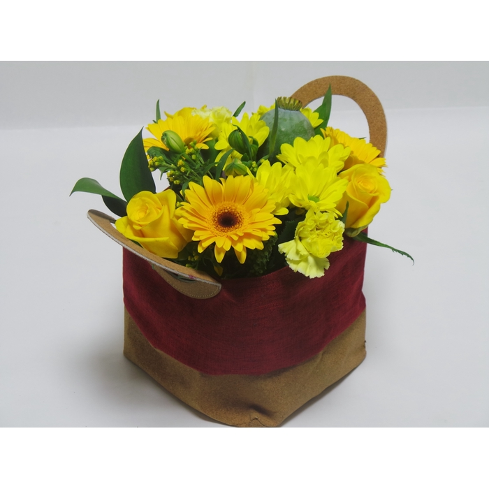<h4>Bouquet Big Bag Yellow Rody</h4>