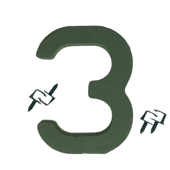 <h4>Foam Basic number 3 27cm</h4>