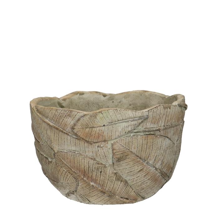 <h4>Ceramics Beech planter d18.5*11.5cm</h4>