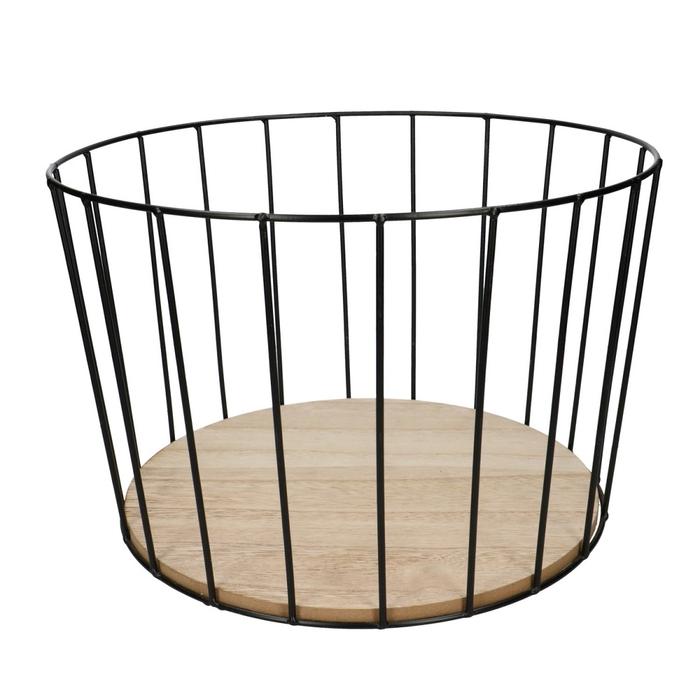 <h4>Homedeco Basket metal d32*21cm</h4>