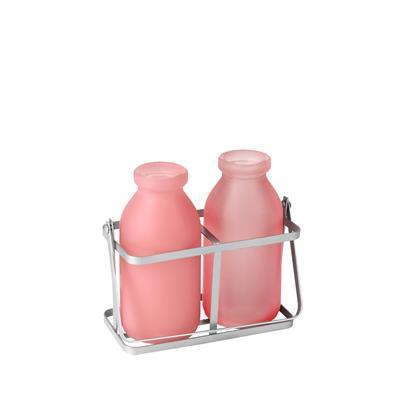 <h4>Rekje durban glas 2 flesjes roze</h4>