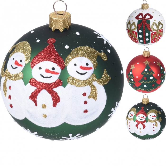 <h4>Christmas bauble Ball deco christmas 80mm</h4>