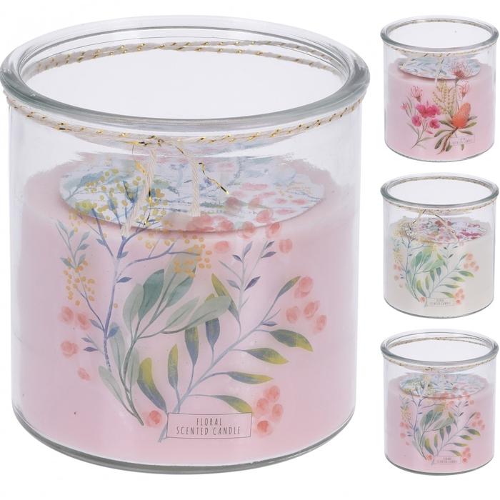<h4>Candle Scent pot+deco d8*9cm ass</h4>