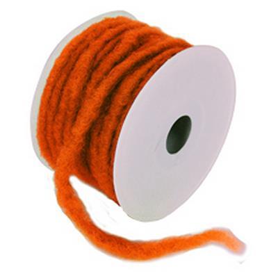 <h4>Rouleau de laine ø7mmx 20mtr orange couleurnr 82</h4>