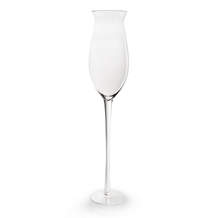 <h4>Glas Bokaal Champagne soda d19*90cm</h4>