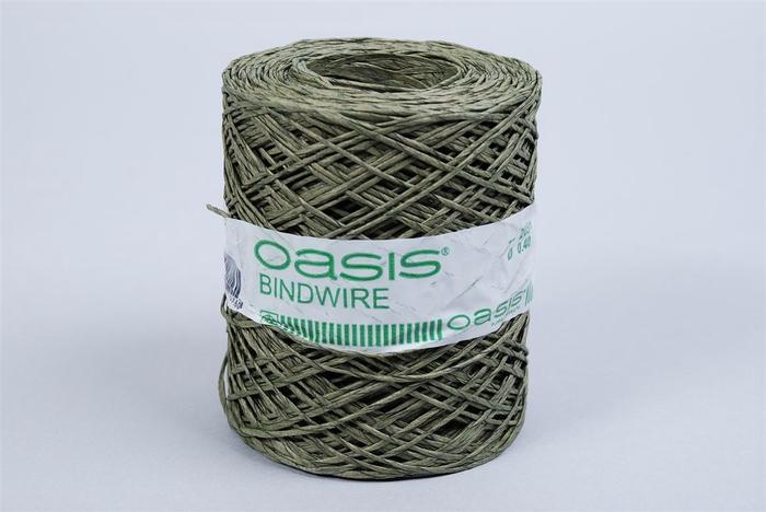 <h4>Oasis Decodraad Groen P/200 Meter</h4>