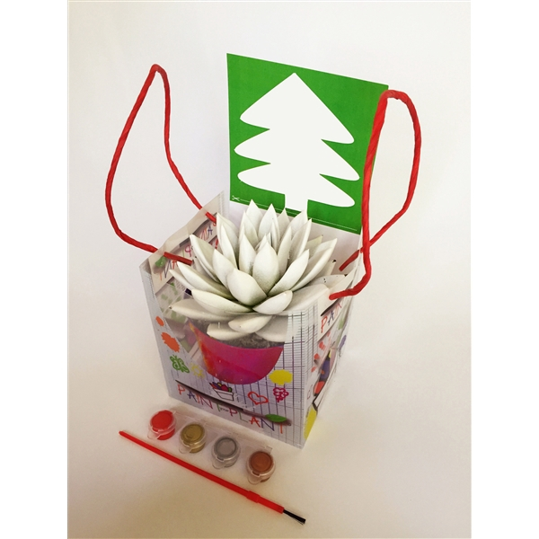 <h4>Paint your plant - christmas tree blank</h4>