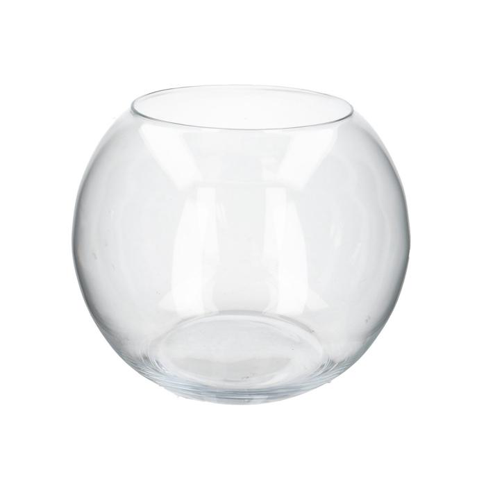 <h4>Glass Ball pot d18.5/29*25cm</h4>