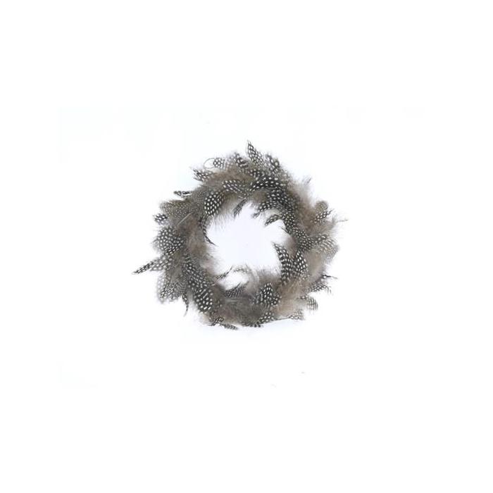 <h4>Wreath Feather Ø20cm 55564</h4>