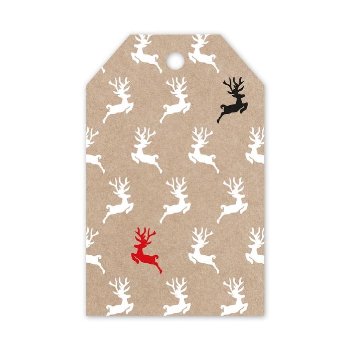 <h4>Christmas Displ.Card Deer 5*8cm x20</h4>