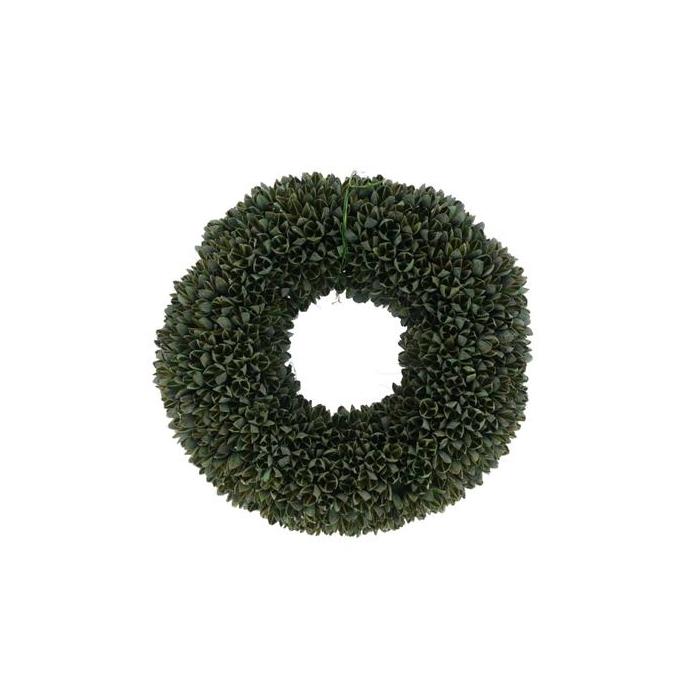 <h4>Wreath 38cm Green 46005</h4>