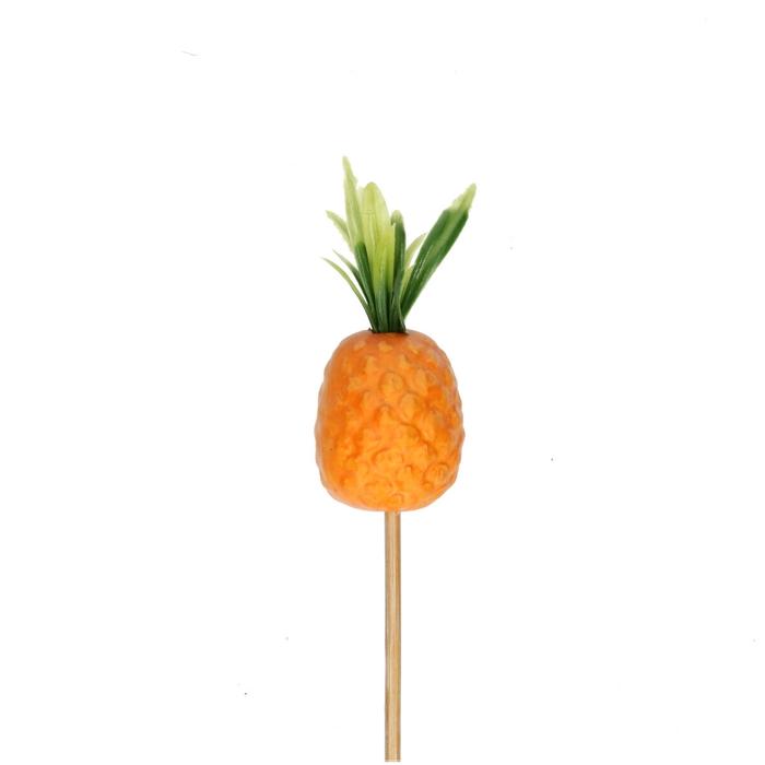 <h4>Bijsteker 50cm Ananas cocktail 8cm</h4>