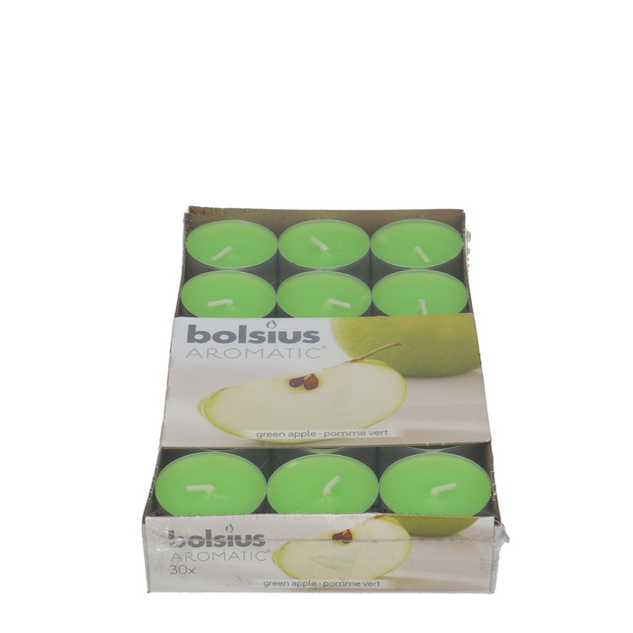 <h4>Candle Scent tealight Apple x30</h4>