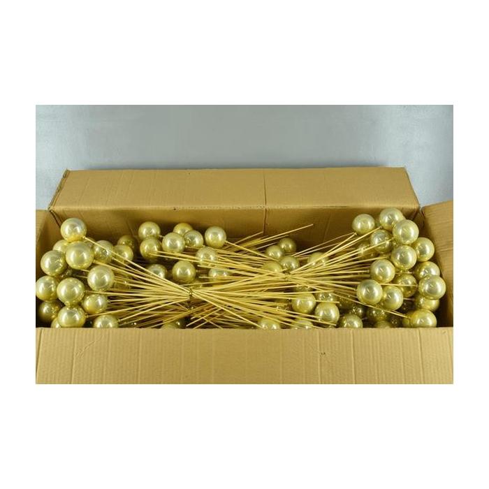 <h4>Stick Ball C. Ø6 Gold Pearl</h4>