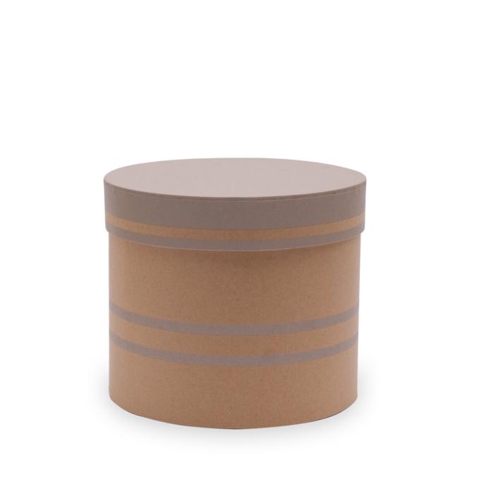 <h4>Bouquetholder Hatbox Duo lines d15*13cm</h4>