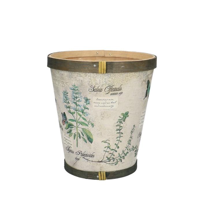 <h4>Hout Herbs pot d13*14cm</h4>