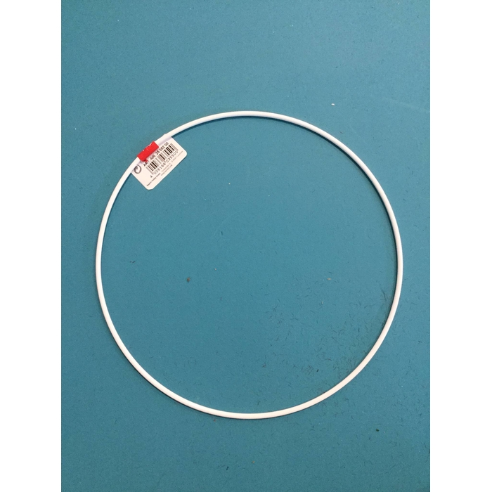 <h4>METAL RING ROUND SINGLE 020CM WHITE</h4>