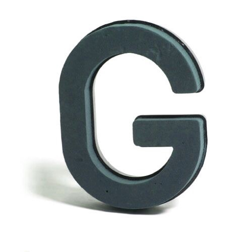 <h4>Steekschuim Basic Letter G 29cm</h4>
