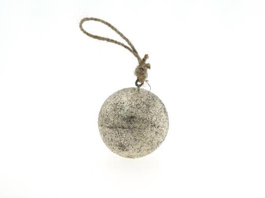 <h4>Ball Wood Hang Ø10cm Platinum</h4>