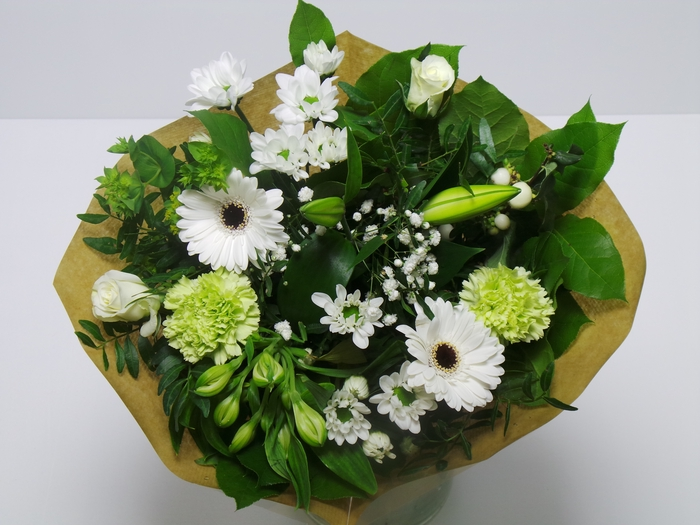 <h4>Bouquet KIM Medium White</h4>
