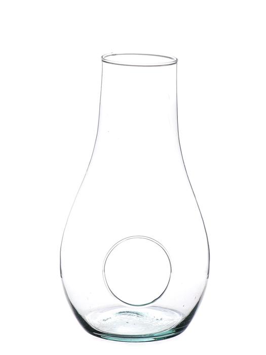 <h4>DF883540000 - Planter glass Tisha d13.5xh25 clear</h4>