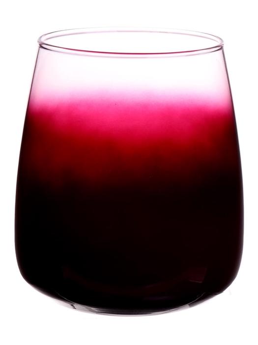 <h4>DF883721100 - Vase Alzada d11.5/14xh17 aubergine/clear</h4>
