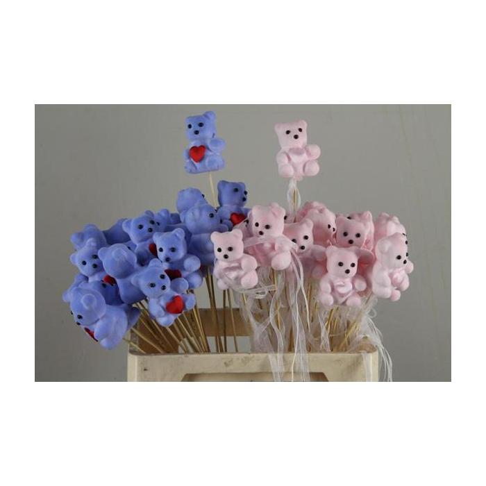 <h4>Stick Bear + Heart  Mix</h4>