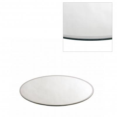 <h4>Glas kleur Bord spiegel rond d20cm</h4>
