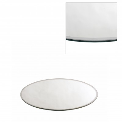 <h4>Glass colour Plate mirror round d25cm</h4>