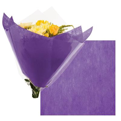 <h4>Colorflor short fibre sheet  50x50cm  lilac</h4>